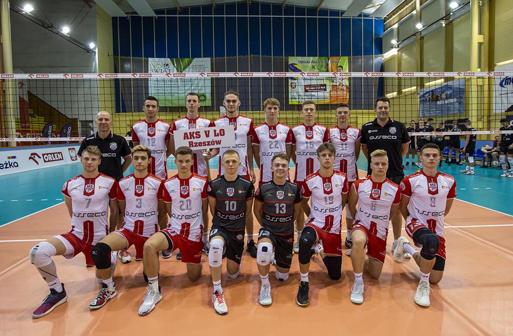 AKS V LO Rzeszów (MMP Finał Juniorów Grupa B sezon 2019/2020)