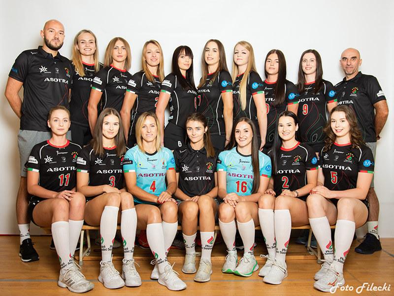 Asotra  Płomień Sosnowiec (1 Liga Kobiet 2020/2021 - Faza Zasadnicza)