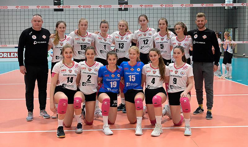 MKS V LO Developres Rzeszów (MMP Finał Juniorek Młodszych Grupa A sezon 2019/2020)