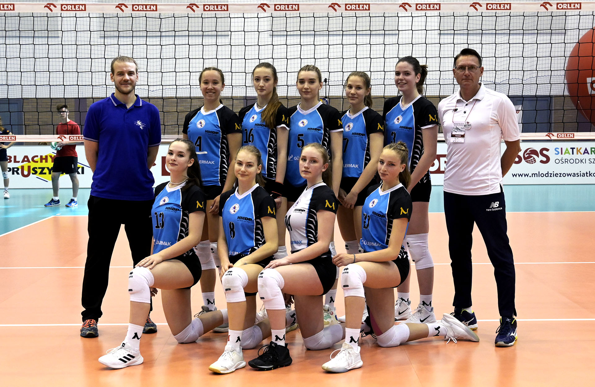 KS METRO Warszawa (MMP Finał Juniorek Młodszych Grupa A sezon 2020/2021)
