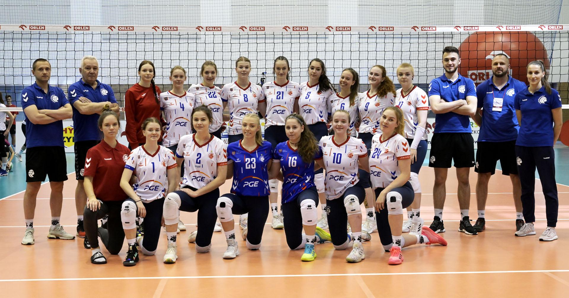 LTS Legionovia Legionowo (MMP Finał Juniorek Młodszych Grupa A sezon 2020/2021)