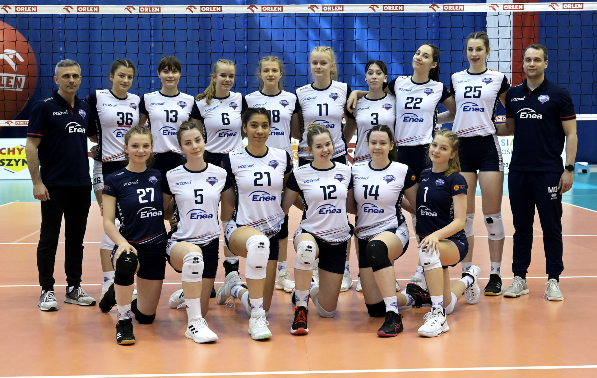 Enea Energetyk Poznań (MMP Finał Juniorek Młodszych Grupa A sezon 2020/2021)