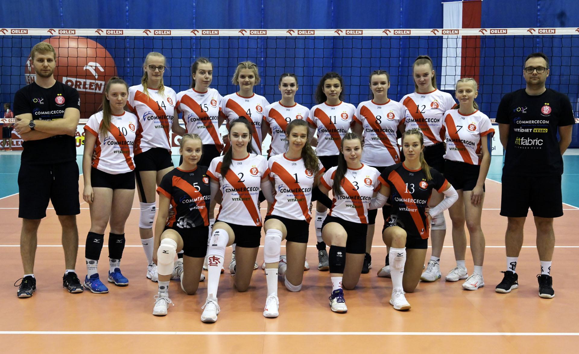 ŁKS Siatkówka Żeńska Łódź (MMP Finał Juniorek Młodszych Grupa B sezon 2020/2021)